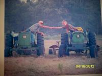 My daddy passed away and left me his old tractor. This