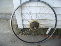 I am looking to buy a used rear rim & sprocket setup