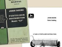 Wanted John Deere LF lime, seed, etc. spreader price