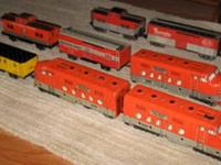 I am looking for Marx train sets. I want clean sets