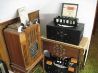 TURNER COMPANY MICROPHONES. MILITARY TYPE RADIOS.