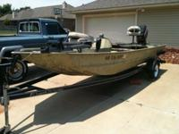 * 2004 WAR EAGLE 754 BOAT 17 FOOT. LESS THAN 120 HOURS