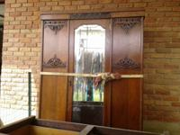 Beautiful, large old wardrobe. We have each one of the