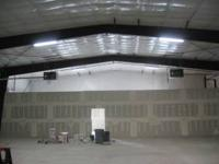 Warehouse space, free span, 3 phase power, paved /