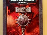 I have 3 Warhammer 40,000 book's for sale.  1st-