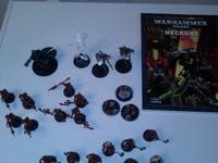 Warhammer 40k Necron Lot and Codex !!! Get begun with