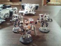 The first item is a complete Tau army. Its been