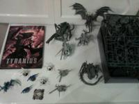 NEWEST LINE Tyranids! Most launched 2014. Assembled and