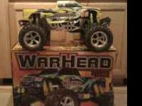 Warhead 4.4cc g-27cx it only has about 20 hrs