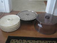 The Waring Food Dehydrator is designed to dry fruits,