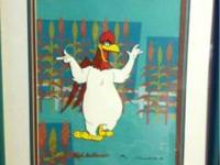 Original hand painted Warner Bros. Classic Foghorn cel.
