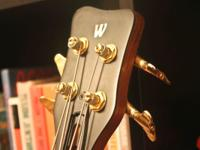 This is an FNA Jazzman four string bass. For some