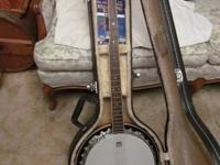 For sale is this Washburn B9 Banjo complete outfit.