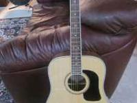 I have a Washburn D10 with solid spruce top. New