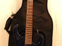 This listing is for a Washburn Mercury Electric Guitar