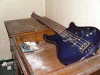 Washburne Custom Bass. (ABDOMINAL OBLIGE). made in 1985