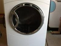 I have a GE front load washer and dryer for sale.