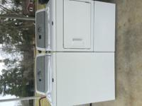 Maytag washing machine and dryer. The washing machine