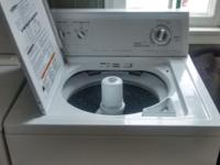 We're selling a washer and dryer machines in perfect