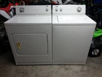 Washer and dryer set for sale! Great condition both