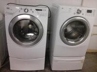 We sale whirlpool duet washer and electric dryer LG