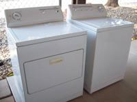 For sale 2006 Kenmore Washer & Dryer matching set 80