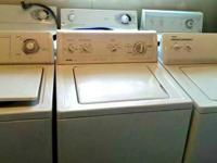 Hi I sell and fix dryers and washers. All are in