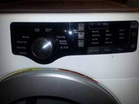 Nearly fresh washer & clothes dryer.$1,200.00 or finest