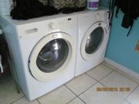 RUNS GREAT THE WASHER AND DRYER IS GAS & HAD SERVICE IN