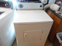 Maytag Large CAP washer + Whirlpool LARGE cap ELECTRIC