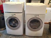 Front loader washer & dryer for sale.  10 years old &