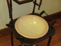 Victorian Washing Stand with Pitcher We have an antique
