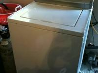 Washing machine-works good  came with a new house ans