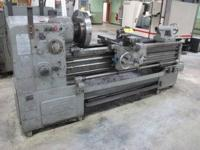 BUYER PAYS SHIPPING Wasino Engine Lathe Model LED-15A,