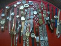Type:Watches 44 Different watches, from Fossil, to