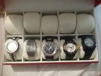 I don't want to sell but need the money. 5 watches all