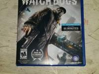 Up for sale is my LIKE NEW condition copy of Watch Dogs