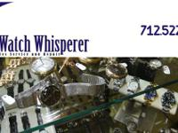 We are a watch repair service and watch repair company.