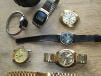 Some of these watches may just need a new battery, I