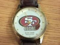 Forty-Niners Watch-$20 Gold & Silver-$75 Work: Need
