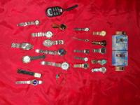 I have a bunch of watches I entered a trade several