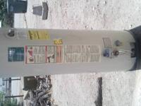 Water heater for sale (used) we were told are water