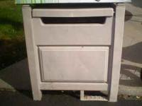 Water Hose storage Cabinet Good Condition Call