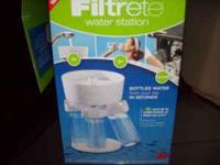 Filtrete water purifier. all included in original box.