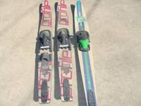 Skis, set of 3 $20, pictured together Jobe Open Class
