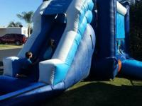 Lease your tables chairs bounce house water slide and