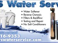 R & & S Water Services is a Full Service Water