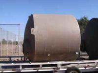 Tan Poly water Storage Tanks-2600 Gallon. New-factory