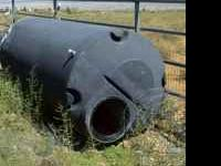 1550 gallon cone bottom, 900 gallon flat bottom tall