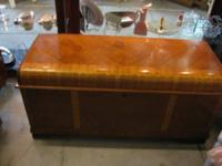 I have a stunning Waterfall Cedar Chest from 1950. It